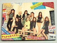 SNSD GIRLS' GENERATION PAPARAZZI Japan CD+DVD
