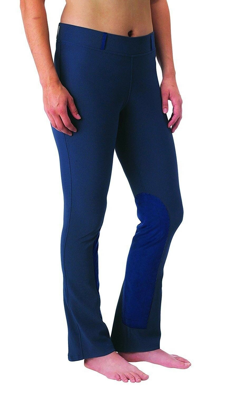 Kerrits Microcord botacut Rodilla Equitación Pantalones de Montar Parche con Pretina de 2
