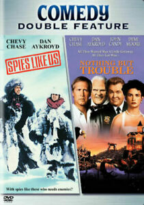 Nothing-but-Trouble-DVD-1991-Spies-like-us-DVD-1985-Region-1