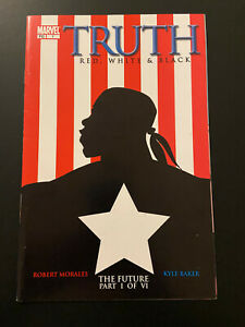 TRUTH RED WHITE & BLACK 1-7 1st App Isaiah Captain America Falcon Winter Soldier