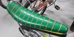 Used-Vintage-18-034-Green-Muscle-Bike-Banana-Seat-fits-Huffy-Rail