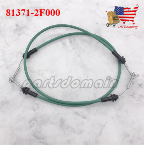2PCS NEW INNER FRONT DRIVER LEFT DOOR HANDLE CABLE FOR KIA SPECTRA 2004-2009