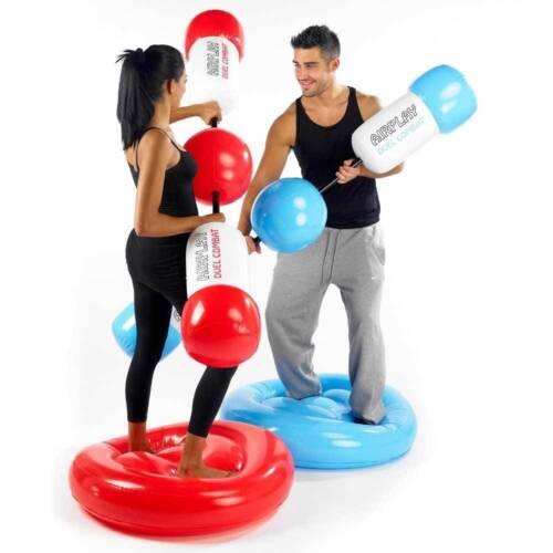 Gonflable Boxe Gants Sac de Frappe Duel Combat Gladiateur Boxant Boxer Amusant