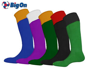 *CLEARANCE NEW* BIGON - TURNOVER FOOTBALL SOCKS - ADULT (SIZE 7-12) - RM1