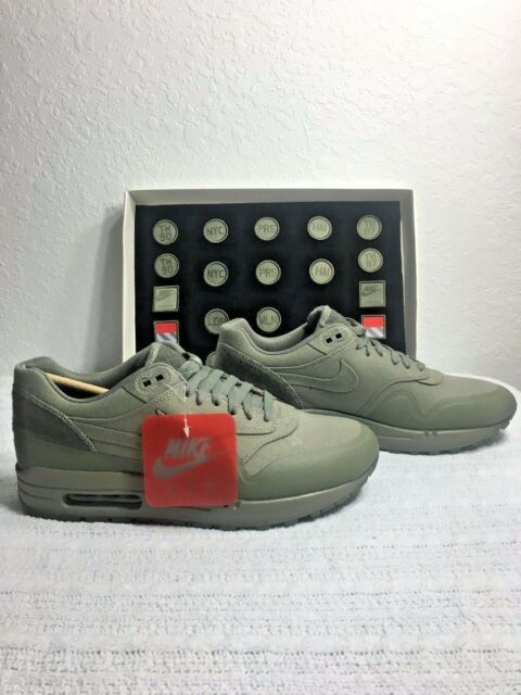 reputable site cdf6c bd835 NIKE AIR MAX 1 V SP PATCH STEEL GREEN MEN SIZE 6.5 NEW 704901 300