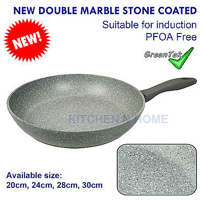 Non-Stick Frypan, Fry Pan, Double Side Stone Coating, Pan,Induction,Cookware