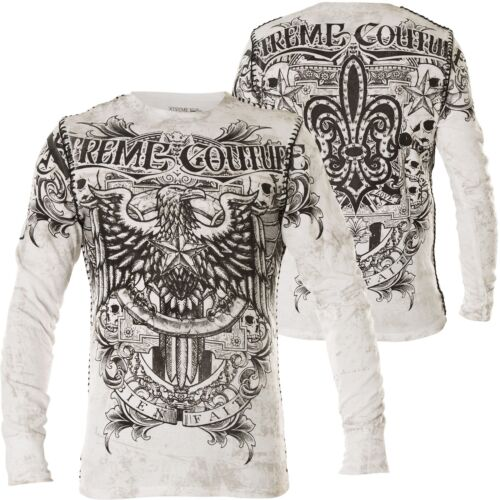 XTREME COUTURE BY AFFLICTION Pullover Patron Weiß Sweatshirts