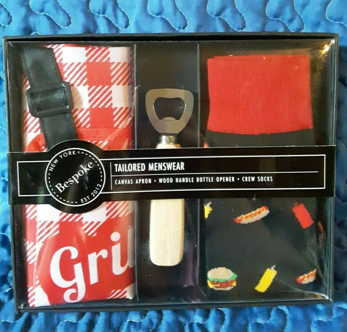 Bespoke 2112 Men's Grilling BBQ Gift Box Father's Day Dad's Gift