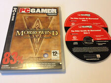 THE ELDER SCROLLS 3: MORROWIND (PC Gamer 83%) PC Role Playing Game World Post!