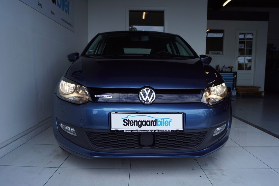 VW Polo 1,0 TSi 95 BlueMotion Benzin modelår 2017 km 58000