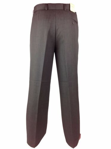 Mens Fialle Light weight Formal Office Suit Trousers 32–50 Soft Comfort Pants