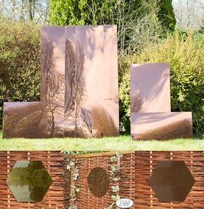 Garden Mirror Acrylic Sheet Mirrored Outdoor Illusion