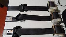 97 98 99 00 01 LEXUS ES300 SET OF 3 REAR SEAT BELTS DARK GREY OEM