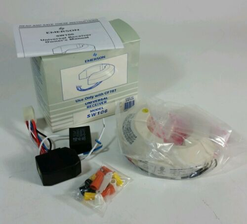 NEW IN BOX EMERSON SW106 UNIVERSAL RECEIVER FAN LIGHT use with CF787