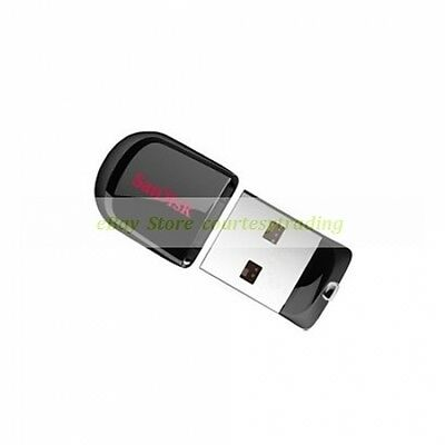 SanDisk USB 8GB 8G Cruzer Fit Flash Pen Drive New Lifetime Warranty
