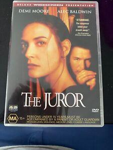 Alec-Baldwin-Demi-Moore-THE-JUROR-DELUXE-EDITION-Region-4-Rare-DVD