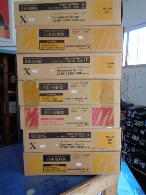 Genuine Xerox DOCUPRINT C240 C320 C400 YELLOW TONER CARTRIDGE CT200209