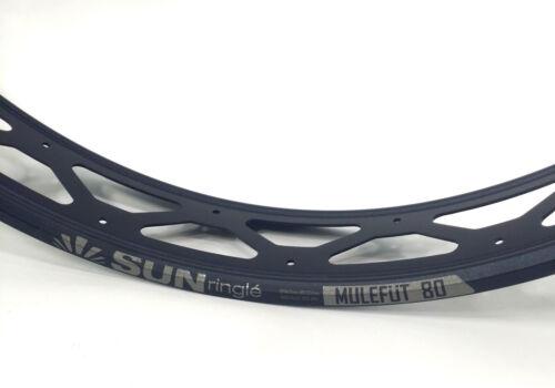 "Sun Ringle MULEFUT 80SL V2 Fat Bike Rim Tubeless Ready 80mm 26/"" NEW VERSION"