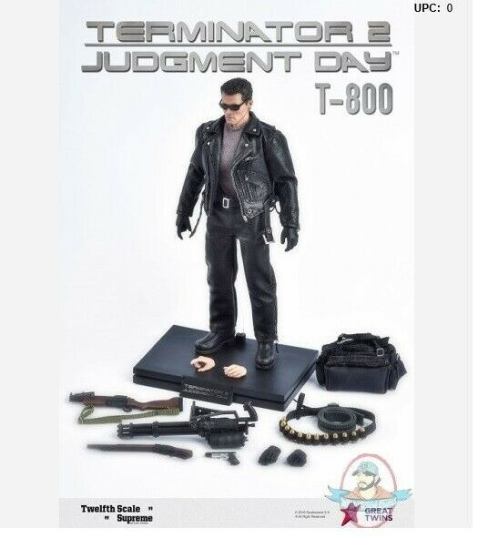 1 12 Scale Terminator 2 JudgeSiet Day T-800 Supreme Action Figure