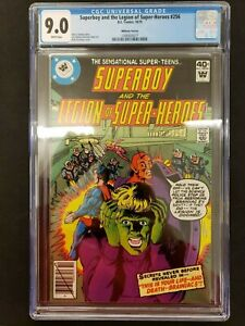 SUPERBOY-AND-THE-LEGION-OF-SUPER-HEROES-256-WHITMAN-VARIANT-CGC-9-0