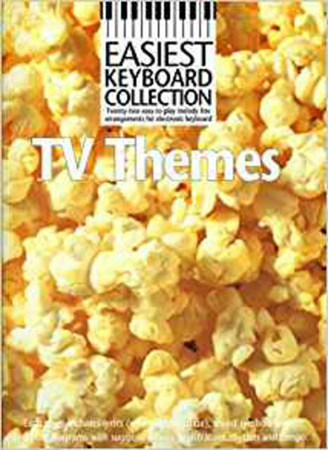 TV Themes (Easiest Keyboard Collection), New, #value! Book