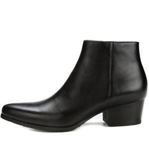 Black Mens Ankle Boots
