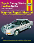 Toyota Camry/Vienta and Holden Apollo Australian Automotive Repair Manual: 1993 to 1996 by Mike Forsythe, J. H. Haynes (Paperback, 2000)