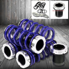 Front//Rear Scaled Black Coilover Blue Lowering Spring For 93-98 Jetta A3 TYP-1H