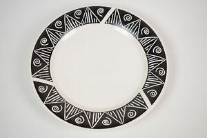 Oneida-Casual-Settings-dinner-plate-Shadow-pattern