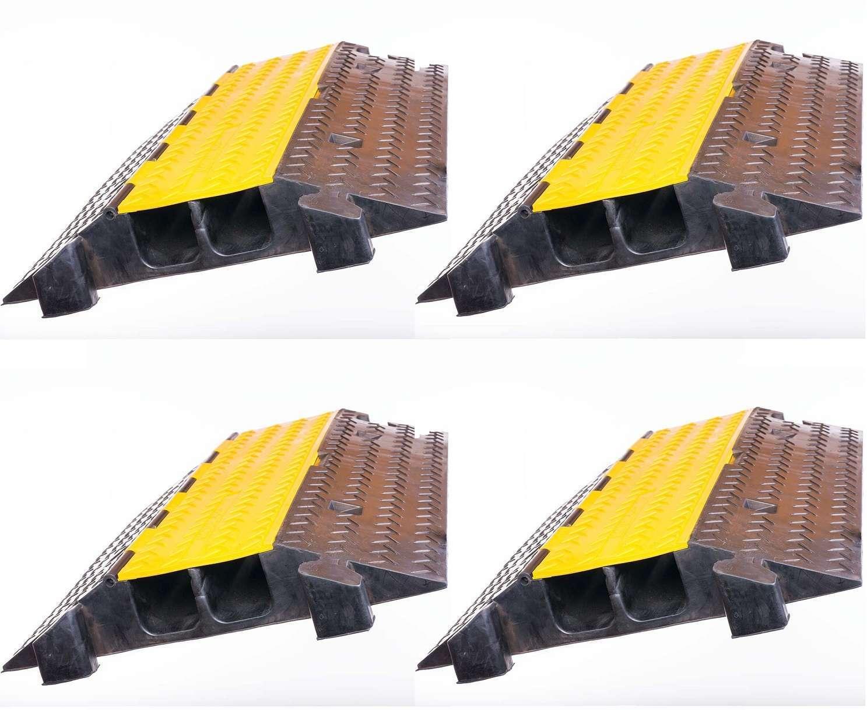 4 x 2 Canale Cavo Ponte Tubo ponte sul rampa di guida Cavo Canale tramite di protezione posteriore