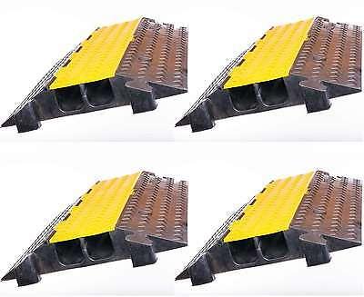 Ausdauernd 4 X 2 Kanal Kabelbrücke Schlauchbrücke Überfahrrampe Kabelkanal Überfahrschutz Musikinstrumente Baustellengeräte & -ausrüstung