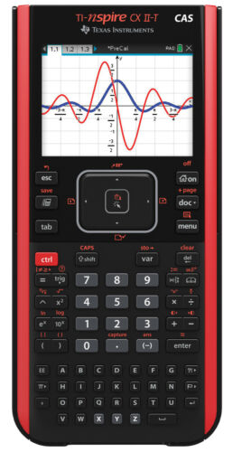 Texas Instruments TI-Nspire CX II-T CAS Colour Calculator and Software