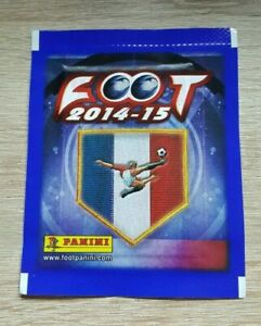 Panini 1 Bag Foot 2014 2015 Bustina Pack sobre Pochette Ligue 1 14 15 France