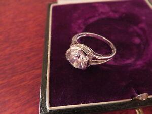 Eleganter-Silber-925-Ring-Zirkonia-Wie-Diamant-Kristall-Entourage-Modern
