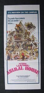 ANIMAL-HOUSE-1978-Original-Australian-daybill-movie-poster-John-Belushi-college