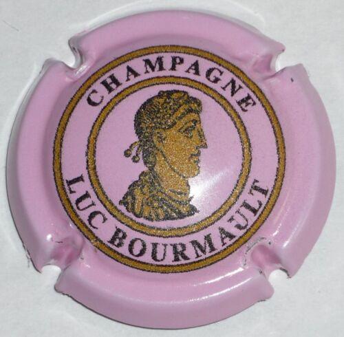 BOURMAULT Luc n°2f Capsule de Champagne : Super New  !! rose !