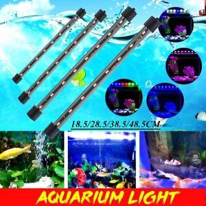 Led-Luce-Acquario-Lampada-Tubo-Multicolore-Cristallo-Sommergibile