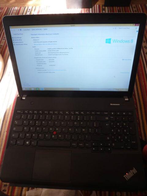 Lenovo ThinkPad Edge E540 Drivers Update