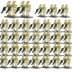 100Pcs-Lot-Lego-Star-Wars-Battle-Droid-Ro-Gr-K2So-Figures-Starwars-Minifigures
