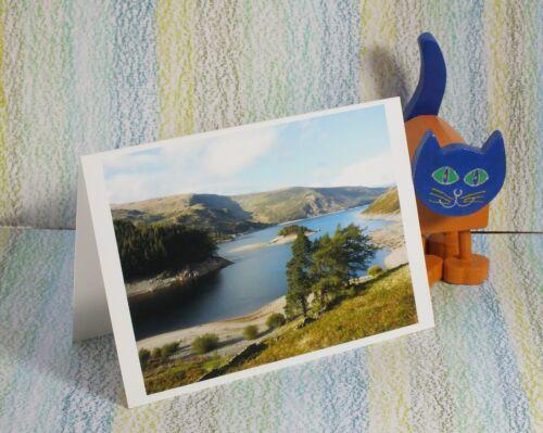 "Lake District,/"" #PeterBrighousePhotography /""Grasmere y Plata Howe Tarjeta"