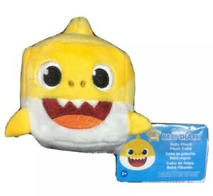 Yellow Baby Shark Cube English Pinkfong Baby Shark Official Song by WowWee