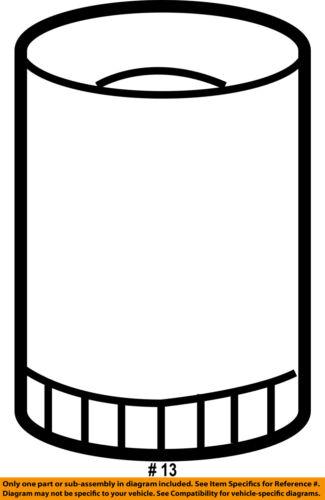 GM OEM Engine-Oil Filter 19210285