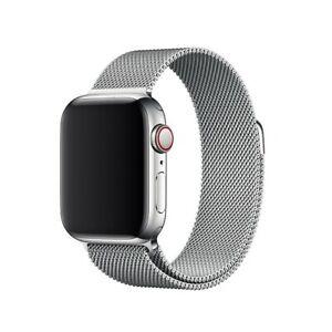 Original Apple Watch Series 4 3 2 1 Stainless Steel Milanese Loop Band Oem Strap Ebay