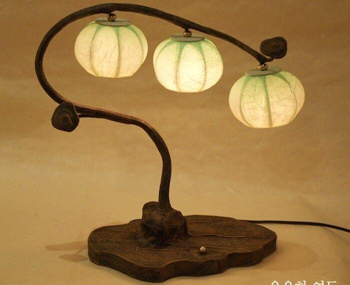 Nachttischlampe Tischleuchte Papierlampe Lampe Leuchte