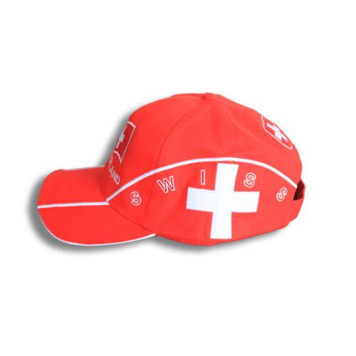 Baseballcap Casquette bonne nuit de noble Einstickung pays SUISSE Switzerland 69367