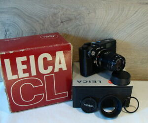 Leitz-Wetzlar-Leica-CL-Kit-Minolta-Rokkor-M-1-4-90mm-034-aus-Sammlung-034-TOP