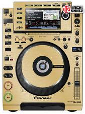 Pioneer CDJ-2000 Skin brushed gold (pair)