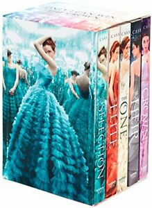 The-Selection-Series-Collection-Kiera-Cass-5-Books-Set-Elite-Heir-Crown-One