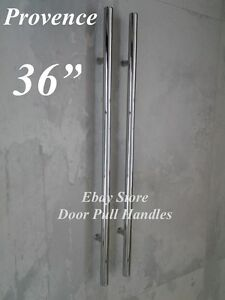 Merveilleux Details About Entry Door Pull Modern Handle Polished Chrome 36 Inches Back  To Back Stainless