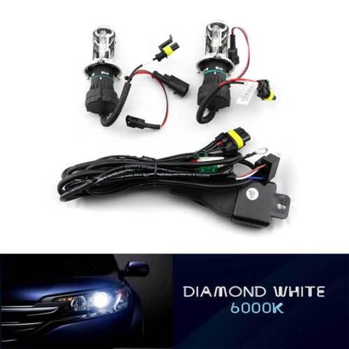 HID Xenon Conversion Kit HeadLight Dual Beam Hi Lo  H4 HB2 9003 For Honda Fit